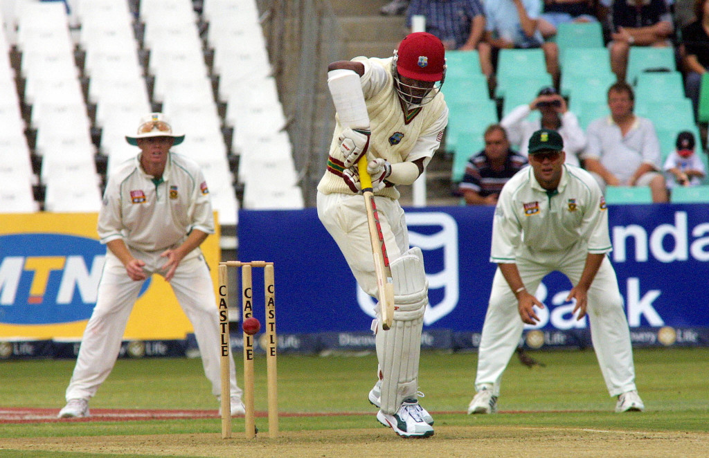 Brian Lara against the Proteas in December 2003