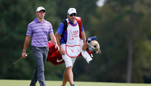 Rory McIlroy and JP Fitzgerald.