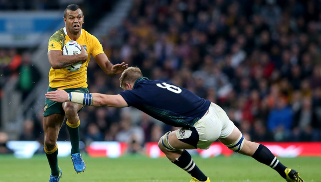 Kurtley Beale is back to lead the Wallabies charge