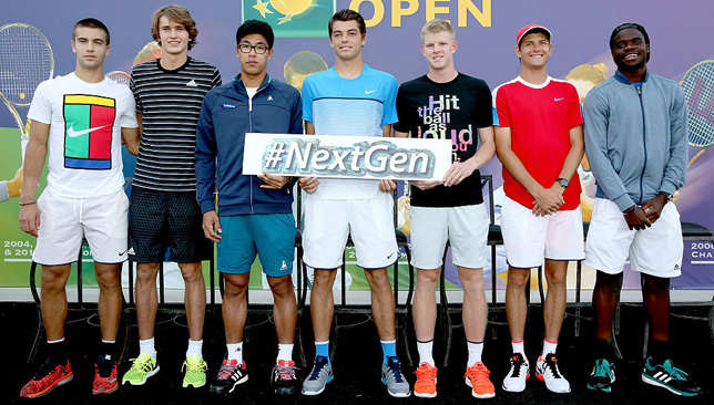 Future of tennis? ATP launched their NextGen campaign last year.