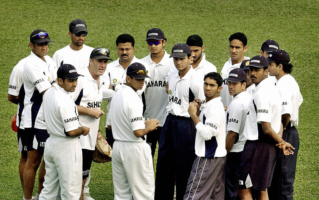 Ganguly's team was equally dominant at home.