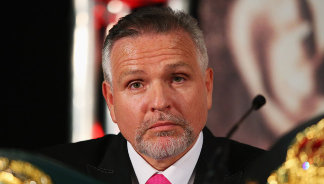 It will be as big as men's boxing, I believe that. Within 5-10 years, that timeframe – Peter Fury.