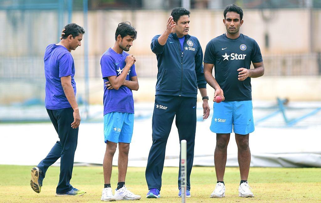 Kuldeep has displaced Jayant Yadav as India's third spinner.