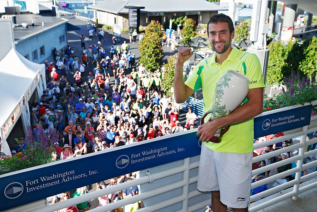 Injured Cilic will not be able to defend his title.
