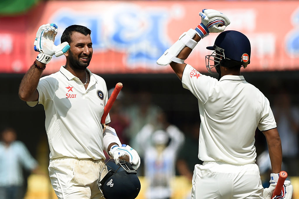 Centuries from Pujara and Rahane laid the foundation of India's win