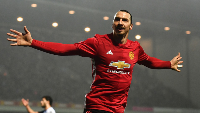 On his way back to United? Zlatan.