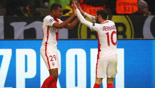 Kylian Mbappe and Bernardo Silva.