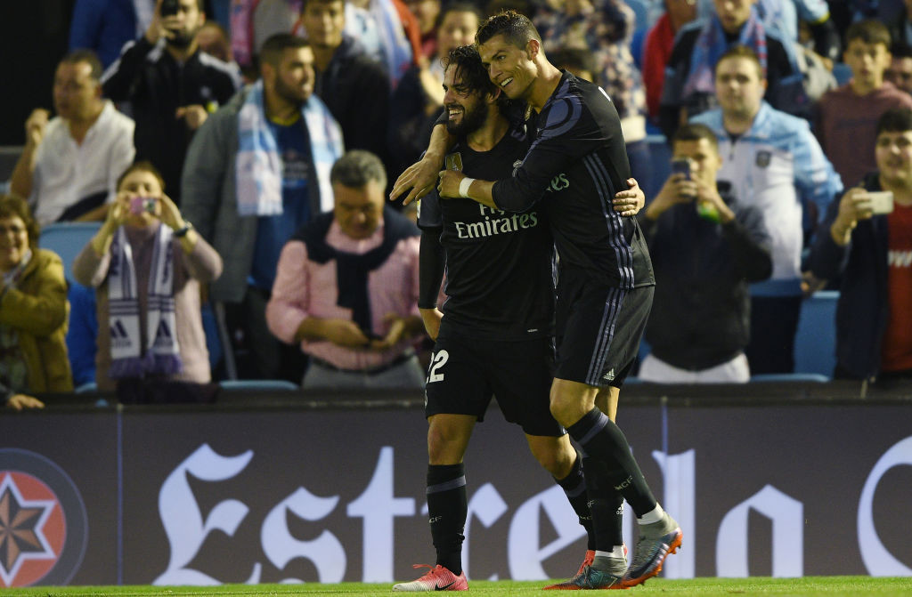 Ronaldo's move to centre-forward has worked in Isco's favour.