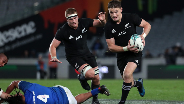 Beauden Barrett will be looking to rediscover his form in the Rugby Championship