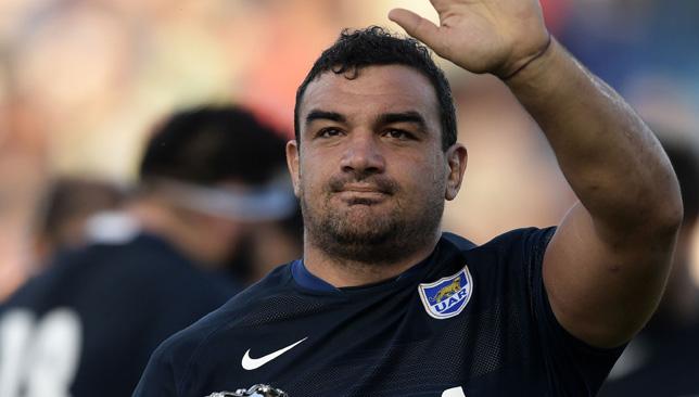 Argentina captain Agustin Creevy