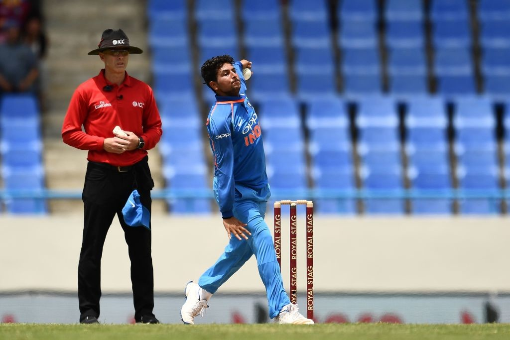 Kuldeep Yadav's unique action brings about unpredictability.