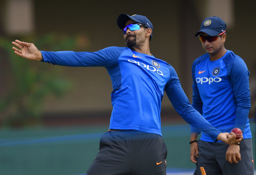 The youngster is expected to replace the suspended Jadeja for the final Test