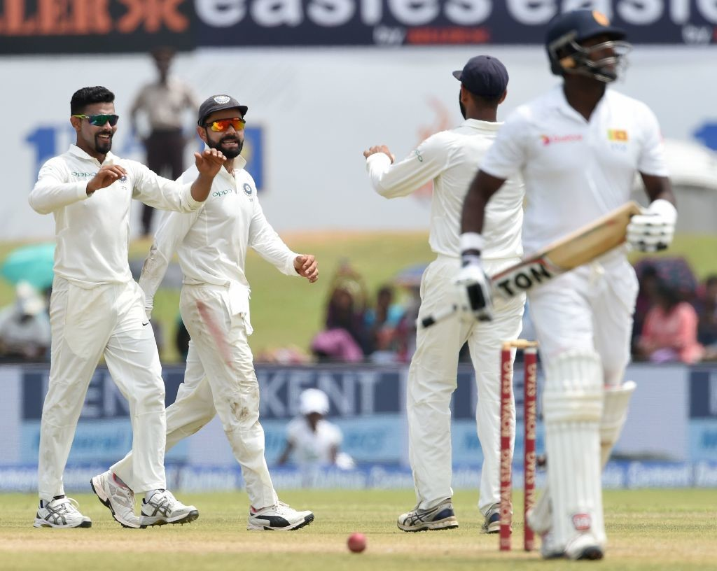 Jadeja was man-of -the-match in the Colombo Test.