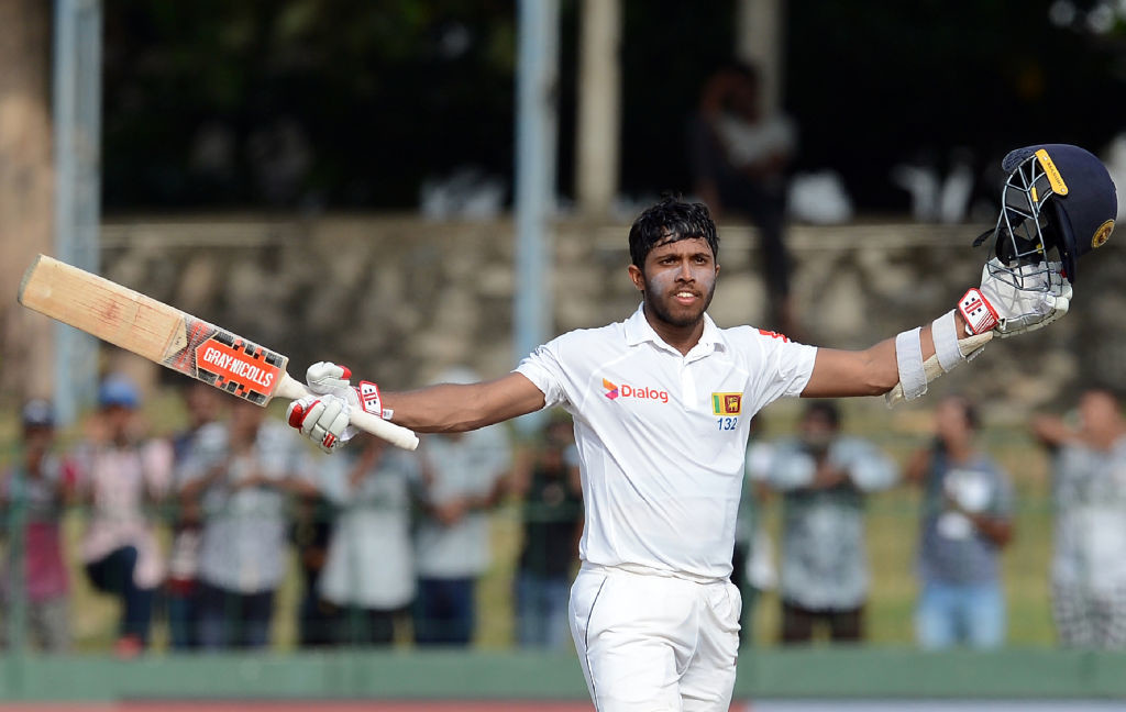 Mendis completes his third Test century