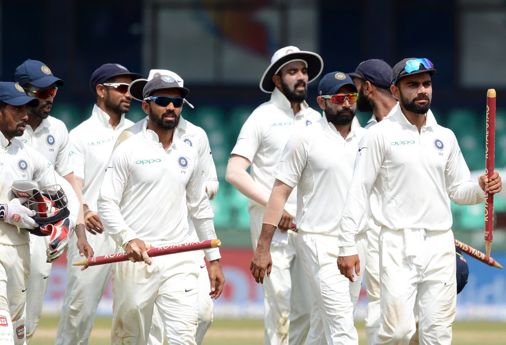 India won the Colombo Test comprehensively.