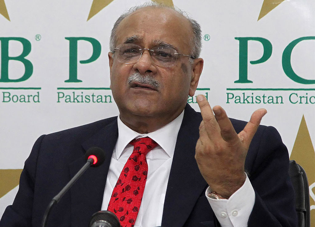 Newly appointed PCB chairman Najam Sethi.