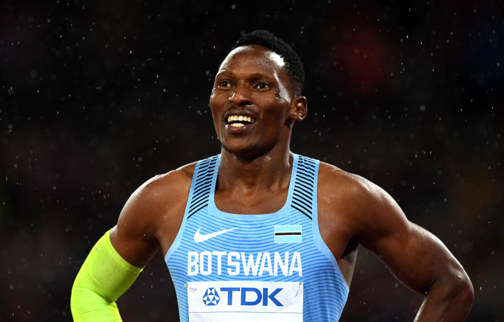 Botswana's Isaan Makwala is the latest athlete down with the virus.