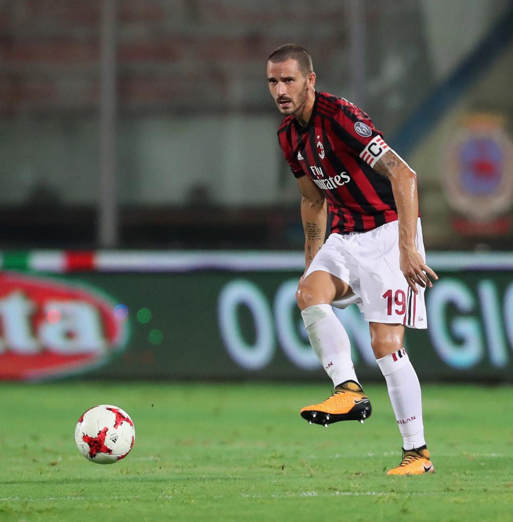 AC Milan defender Leonardo Bonucci