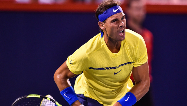 Long road back to top: Nadal.