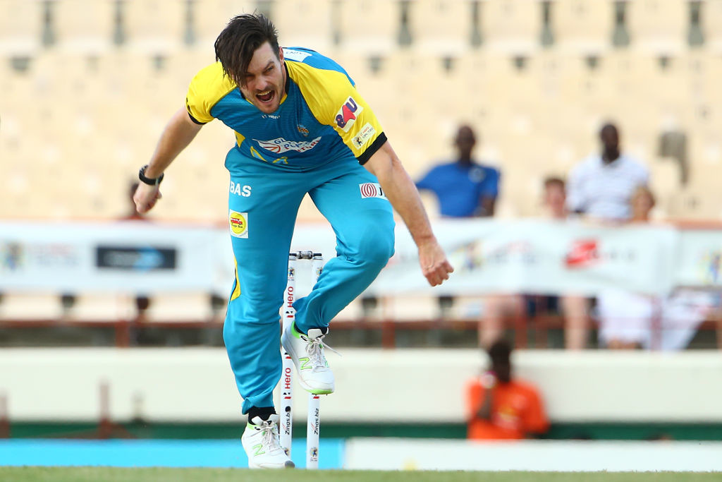 McClenaghan has been donning the colours of St. Lucia Stars in the CPL lately.