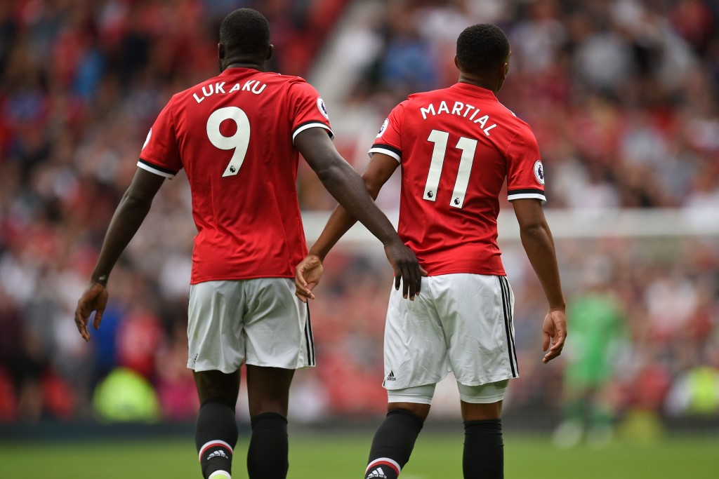 Lukaku and Martial