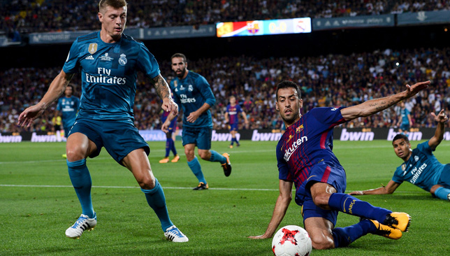 Real Madrid beat Barcelona in Spanish Supercup first leg