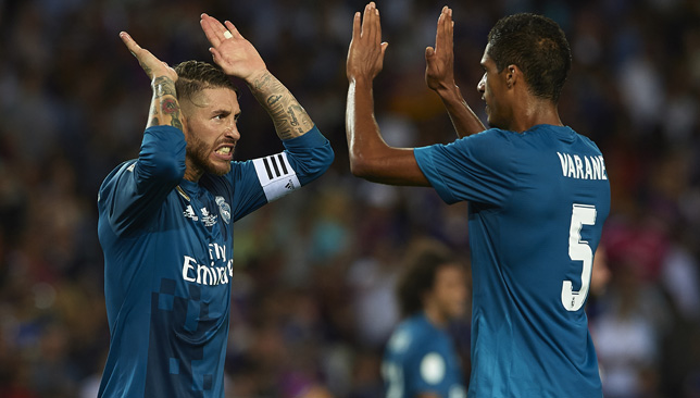 Real Madrid made light of a red card for Cristiano Ronaldo to deal a  further blow to Barcelona by winning 3-1 in the first leg of the Spanish  Super Cup on ... 738567e64