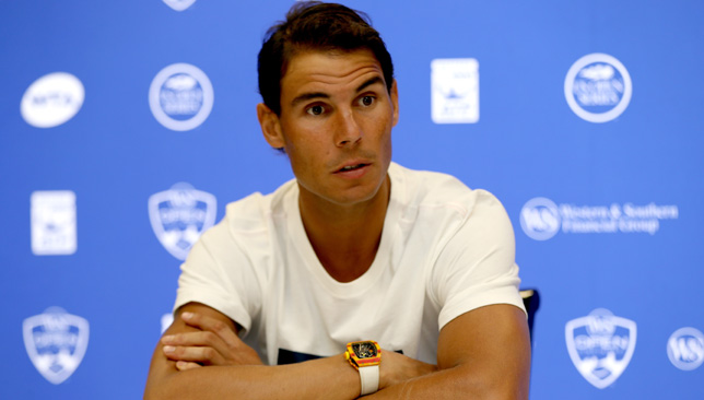 Nadal is bidding for a fifth title of the season.