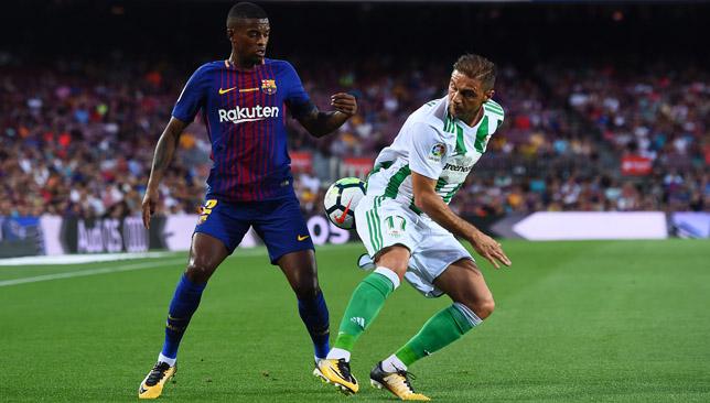 Barcelona's Portuguese defender Nelson Semedo.