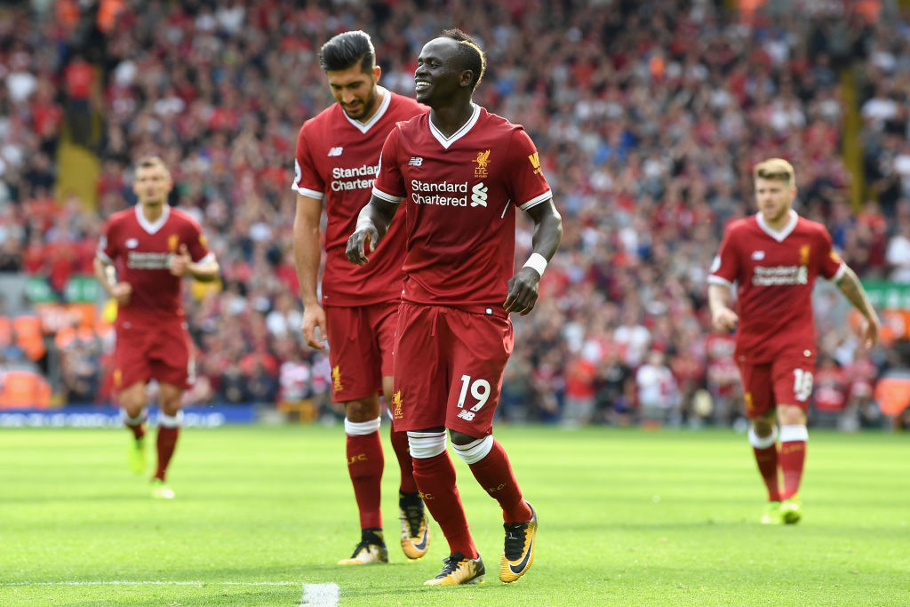 Mane starred for Liverpool