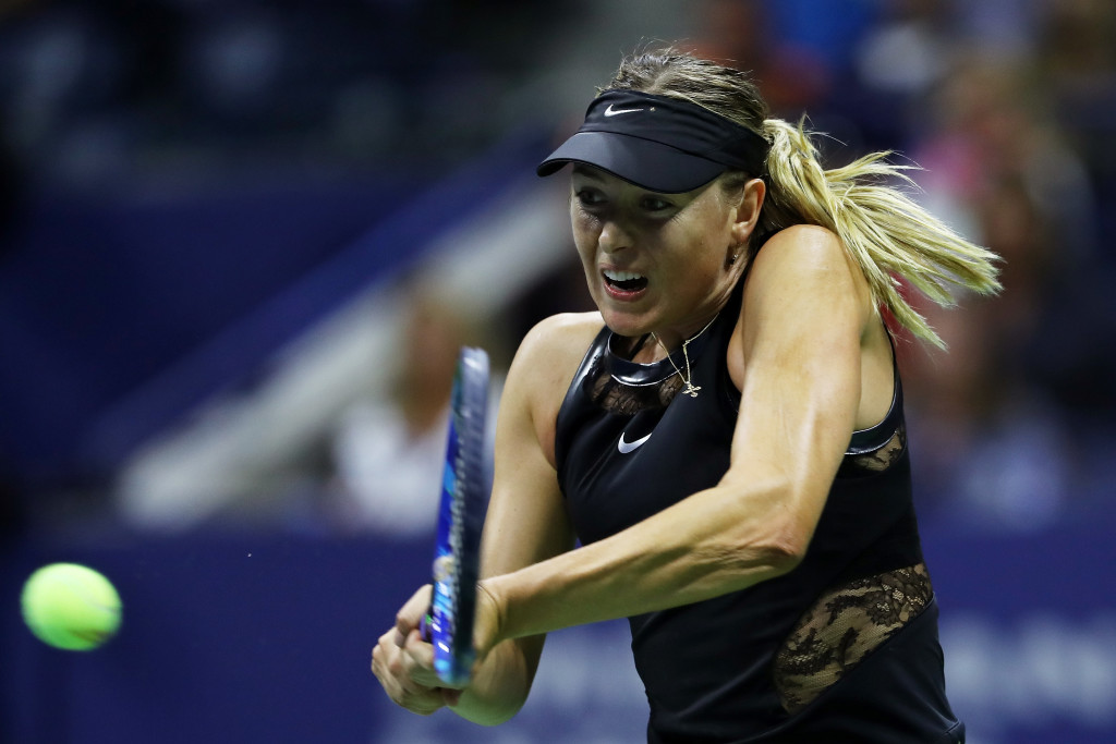 Sharapova hit 60 winners with just 64 unforced errors