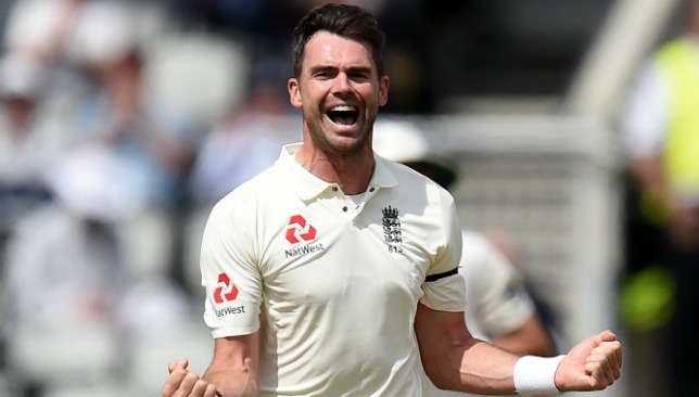 Anderson now has 487 Test wickets.