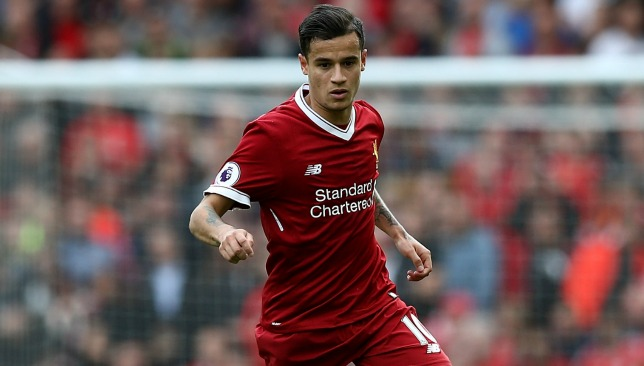 Coutinho has asked to leave Liverpool.