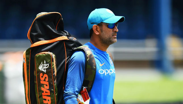 Star in the UAE: Dhoni.