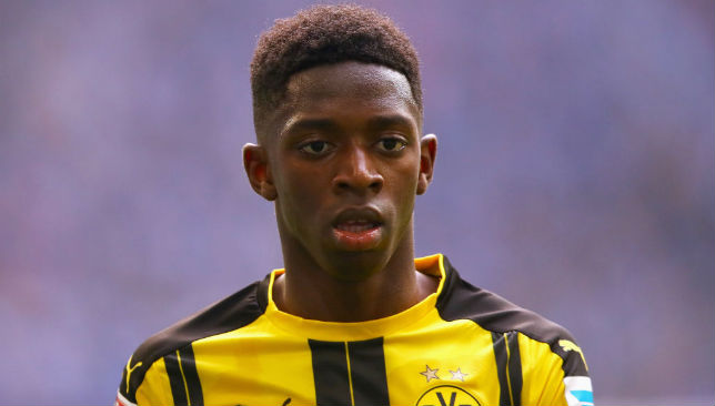 Dembele is trying to force a move away from Dortmund.