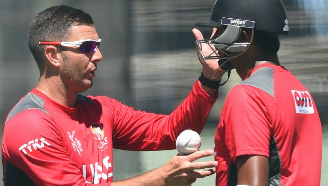 Franks briefly coached the UAE last summer.
