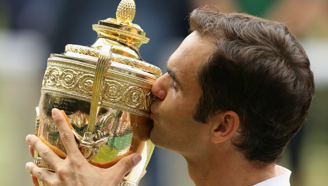 A golden year for the Swiss: Federer won his 19th Grand Slam title at Wimbledon.