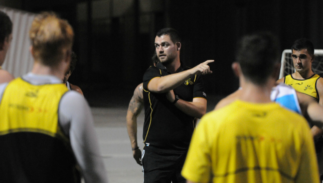 Mike Puglsey's departure this summer left Dubai Wasps without a coach