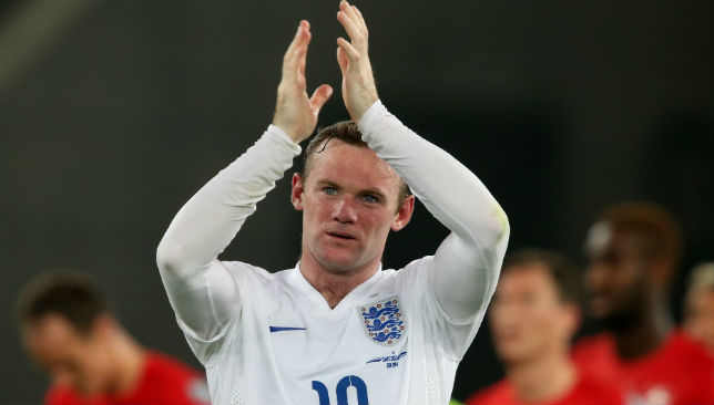 Rooney made his international debut back in 2003.