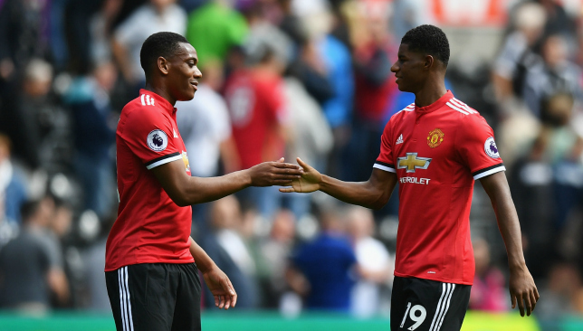 Rashford and Martial to link up?
