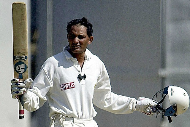 Azharuddin hit eight tons for Derbyshire.