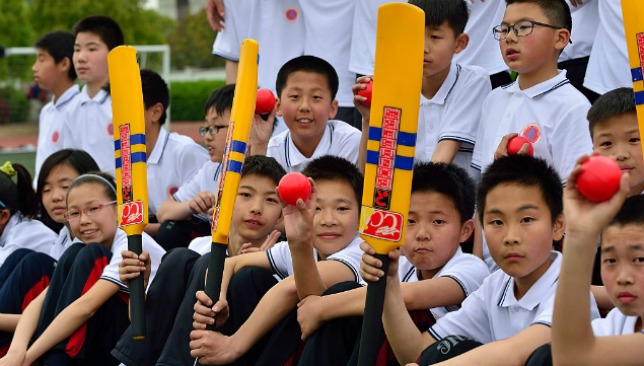 China's cricket potential remains untapped at the moment.