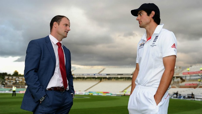 Cook has remained the one constant in England's opening pair ever since Strauss' retirement.