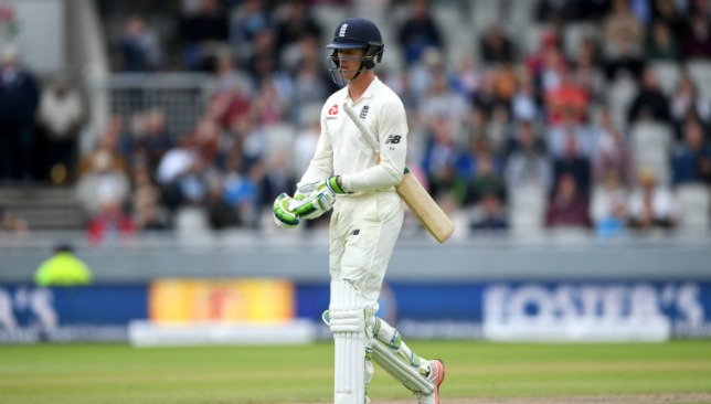 Keaton Jennings has been replaced by Mark Stoneman.