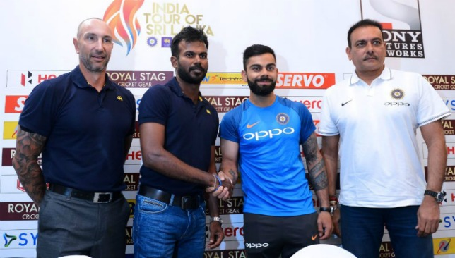 Virat Kohli is open to helping the Sri Lankan management with their transitional issues