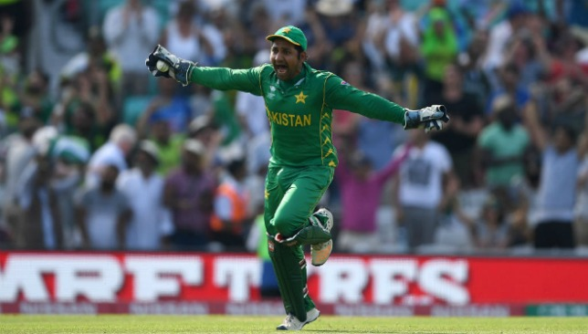Sarfraz Ahmed led Pakistan to Champions Trophy success.