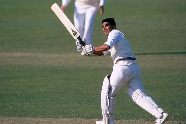 Gavaskar had a highest score of 155 for Somerset.