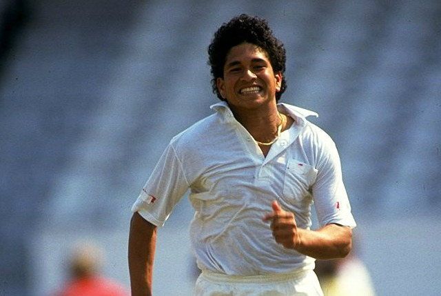 Tendulkar was just 19 when he signed for Yorkshire.