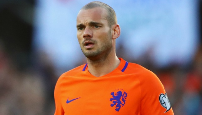 Nice swoop for Sneijder