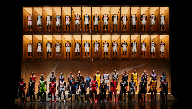 542c91d22 Nike and the NBA make a Statement with new innovative jerseys ...